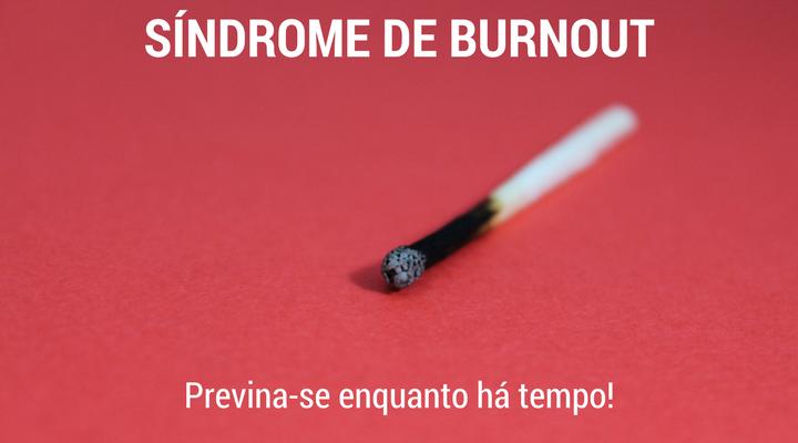 síndrome de burnout prevenção