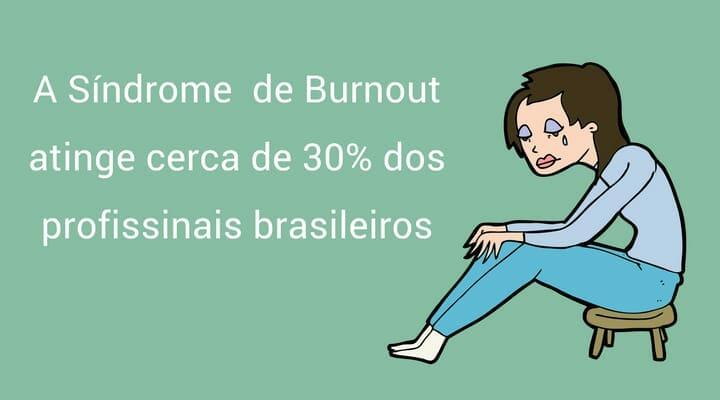 Síndrome de Burnout atinge 30% dos profissionais brasileiros