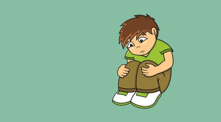 Apesar de ser comum em adultos, a tristeza não é sintoma comum de depressão em crianças